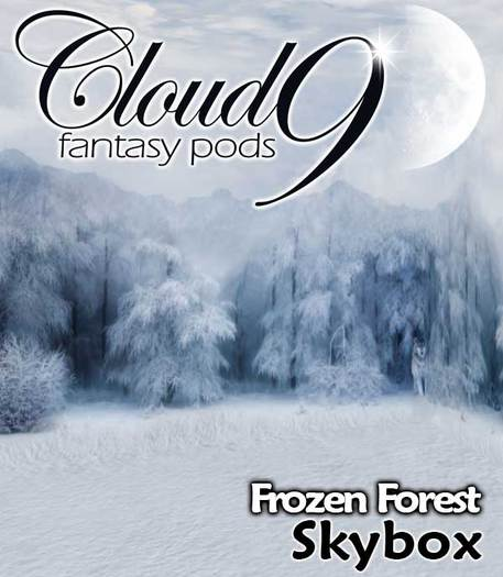 MG - Frozen Forest Skybox - 60x30x24