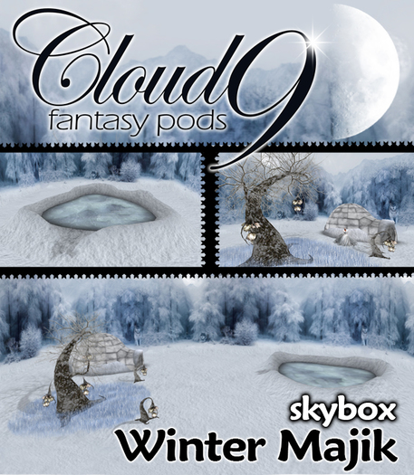 MG - Cloud 9 Winter Skybox - 60x30x24