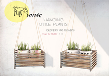 ionic :  Hanging Little Plants