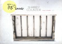 ionic : Shabby Counter