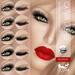 Oceane - Mesh Lashes Mix & Match Boudoir [Catwa] 5&5