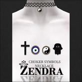 Choker Necklace Symbols