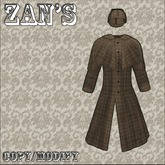 "Zan's ""detective"" inverness coat brown"