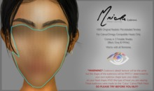 O ` Mrida (ModernFrida) Eyebrows (Catwa/Omega) (Demo)