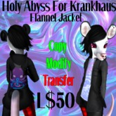 [Tiny Threads] Holy Abyss texture for Krankhaus Flannel Jacket