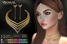 ~~ Ysoral ~~ .: Set Luxe Necklace & Earrings Solene:.