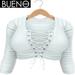 BUENO - Hoody - White - Belleza, Freya, Isis, Slink, Hourglass, Fit Mesh