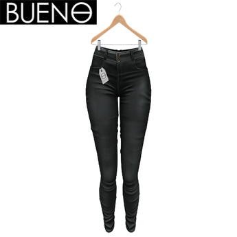 BUENO - Spring Pants - Black - Belleza, Freya, Isis, Slink, Hourglass, Fit Mesh