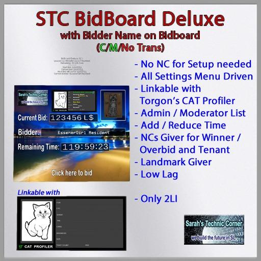 STC Bidboard Deluxe
