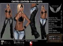 :*:ShOvElHeAdS:*: Craved Leather Chaps Sets