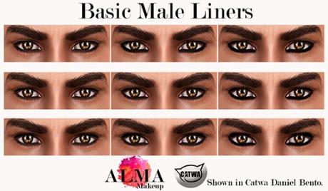 ALMA Makeup - Basic Male Liners - Catwa