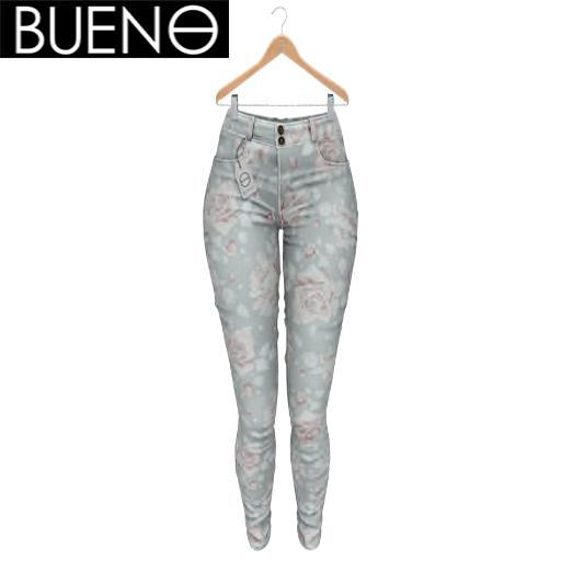 BUENO - Spring Pants - Floral - Belleza, Freya, Isis, Slink, Hourglass, Fit Mesh