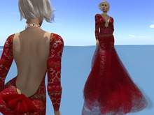 Paris METRO Couture: Reach III Ruby Gown Appliers