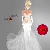 Bridal Wedding Dress - Katrina DEMO