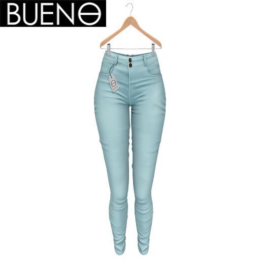 BUENO - Spring Pants - Sky - Belleza, Freya, Isis, Slink, Hourglass, Fit Mesh