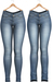 Blueberry - DWL Jeans - Classic Pack - Maitreya, Belleza (All), Slink Physique Hourglass - ( Mesh ) - Blue