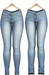 Blueberry - DWL Jeans - Classic Pack - Maitreya, Belleza (All), Slink Physique Hourglass - ( Mesh ) - Light Blue