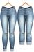 Blueberry - DWL Jeans - Fun Pack - Maitreya, Belleza (All), Slink Physique Hourglass - ( Mesh ) - Cutieblue