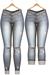 Blueberry - DWL Jeans - Fun Pack - Maitreya, Belleza (All), Slink Physique Hourglass - ( Mesh ) - Faded Light