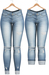 Blueberry - DWL Jeans - Fun Pack - Light Blue