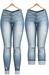 Blueberry - DWL Jeans - Fun Pack - Maitreya, Belleza (All), Slink Physique Hourglass - ( Mesh ) - Light Blue