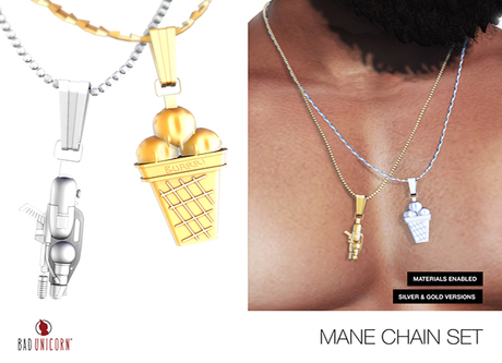 GOLD Mane Chains