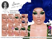 Dotty's Secret - Sass - Drag Queen Make-up Set