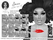 Dotty's Secret - Sass - Drag Queen Make-up Set [DEMO]
