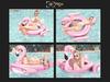 Flamingo float poses 1 mkt