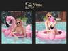 Flamingo float poses 3 mkt