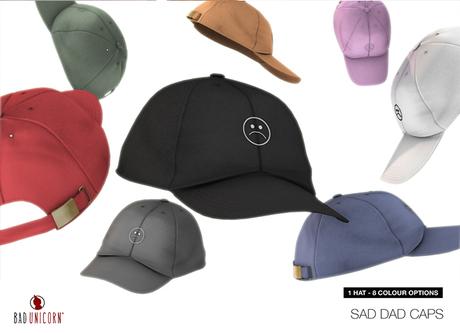 Sad Dad Cap (8 Color Options)