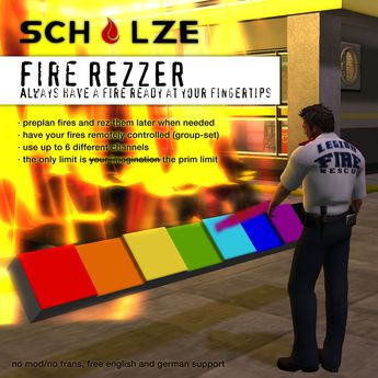 SCHULZE - HD Fire Rezzer - old version - discounted