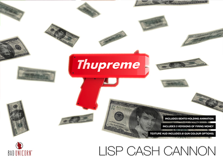 [Bad Unicorn] Lisp Cash Cannon (WEAR TO UNBOX)