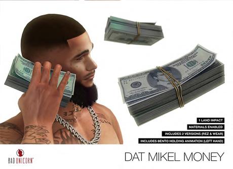 Dat Mikel Money - Stack of Cash