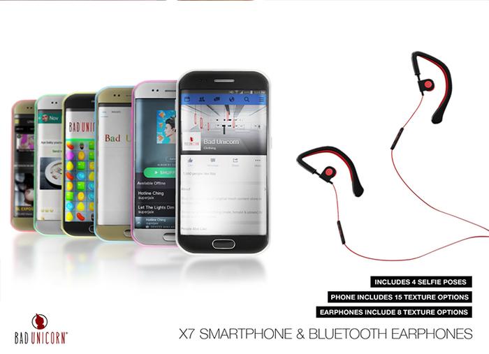 X7 Smartphone & Bluetooth Earphones