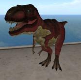T_Rex mesh 17 prim