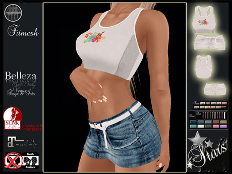 Stars - Maitreya outfit (Slink, Belleza) - Jana