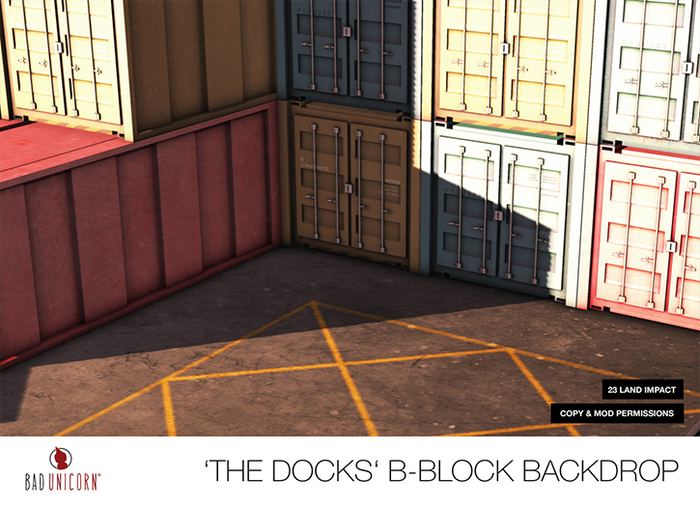 The Docks Backdrop