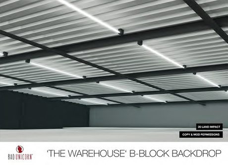 The Warehouse Backdrop