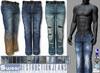 L&B - Mens - Denim Jeans - Destruction