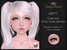 Dirty Secrets ~ Catwa Dolly Eyelashes GIFT