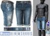 L&B - Mens - Denim Shorts - Salvage