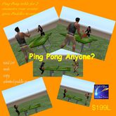 Ping Pong Anyone? -Crate