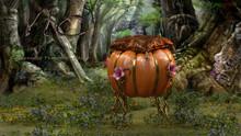 [NC] - Cinderella Pumpkin Chair