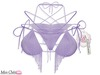 *MC* Tampa Bikini - Solid/Liliac