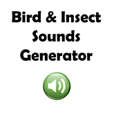Ambient Bird & Insect Sounds Generator