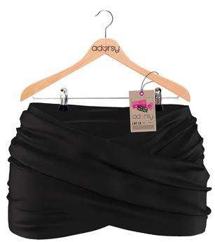 Syline Skirt Black - adorsy