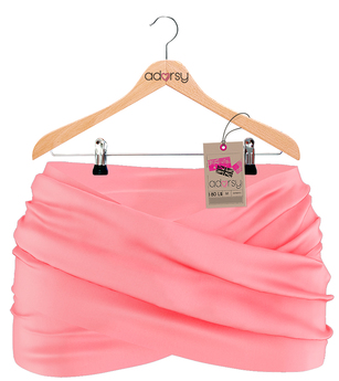 Syline Skirt Pink - adorsy