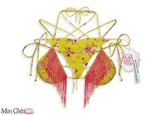 *MC* Tampa Bikini - Floral/Yellow