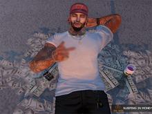 [BIG BOSS] - sleeping in money
